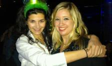 March - celebrating my friend, Lina's bday in style! This year, we will spend it (St. Patty's) in Boston!