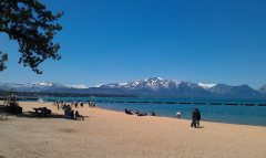 May - I went on a lovely trip to Lake Tahoe with my family
