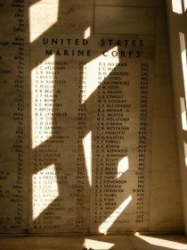 """""""To the Memory of the Gallant Men Here Entombed and their shipmates who gave their lives in action on 7 December 1941, on the U.S.S. Arizona"""""""