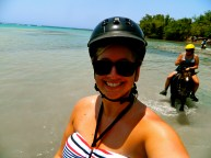 Selfie on a horse in Jamaica!!