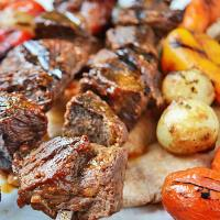 Shish Kabob Recipe : with the best marinade EVER
