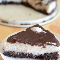 Chocolate coconut bounty cake