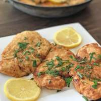 No Wine! Easy Chicken Francese Recipe