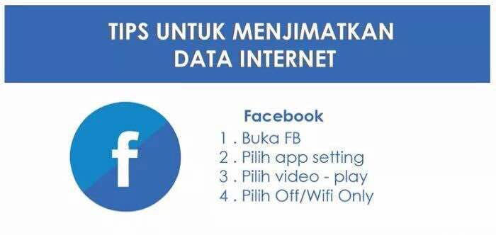tips jimat internet facebook
