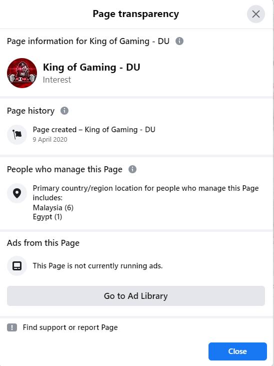 king of gaming - du
