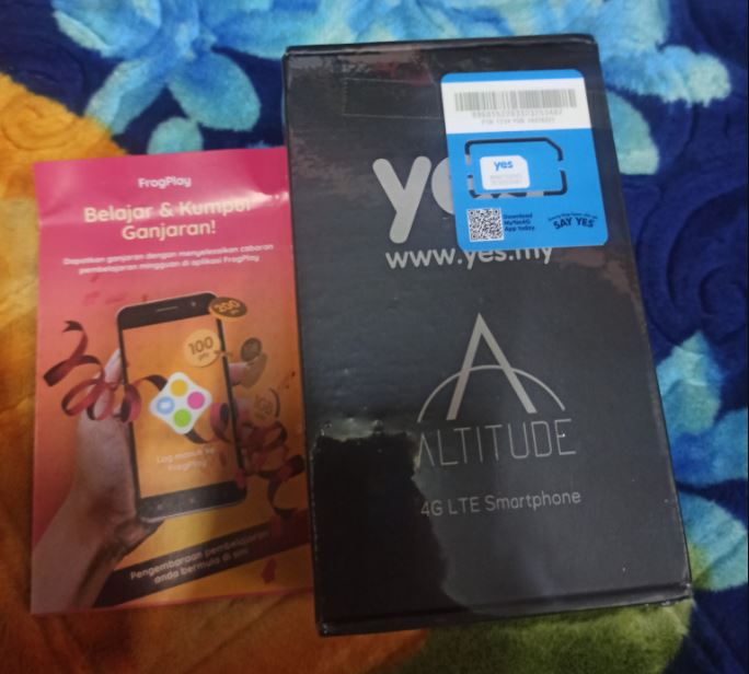 Telefon Pintar YES Altitude 3