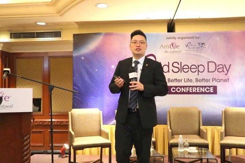 Encik Kerwin Chen di Hari Tidur Sedunia