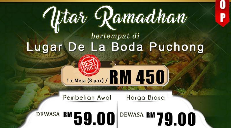 Bufet Ramadan Terbaik Selangor 2021 – Lugar De la Boda Puchong