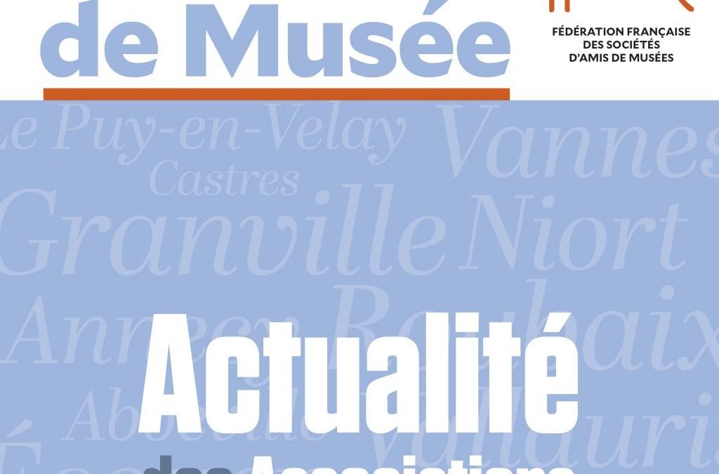 FFSAM : Article dans L'Ami de Musée
