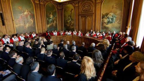 Parlement de Flandre (actuel Palais de Justice -siège de la Cour d'Appel)