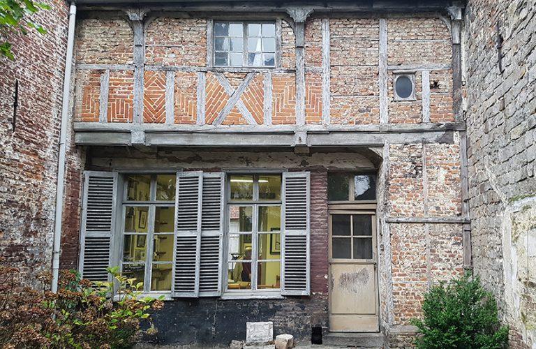 bethune-siege des Amis du Musée coté cour