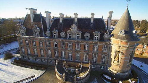 Photographie du Château de Trélon