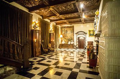 Photo de l'intérieur du château
