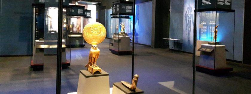 Toutankhamon-une des salles de l'exposition