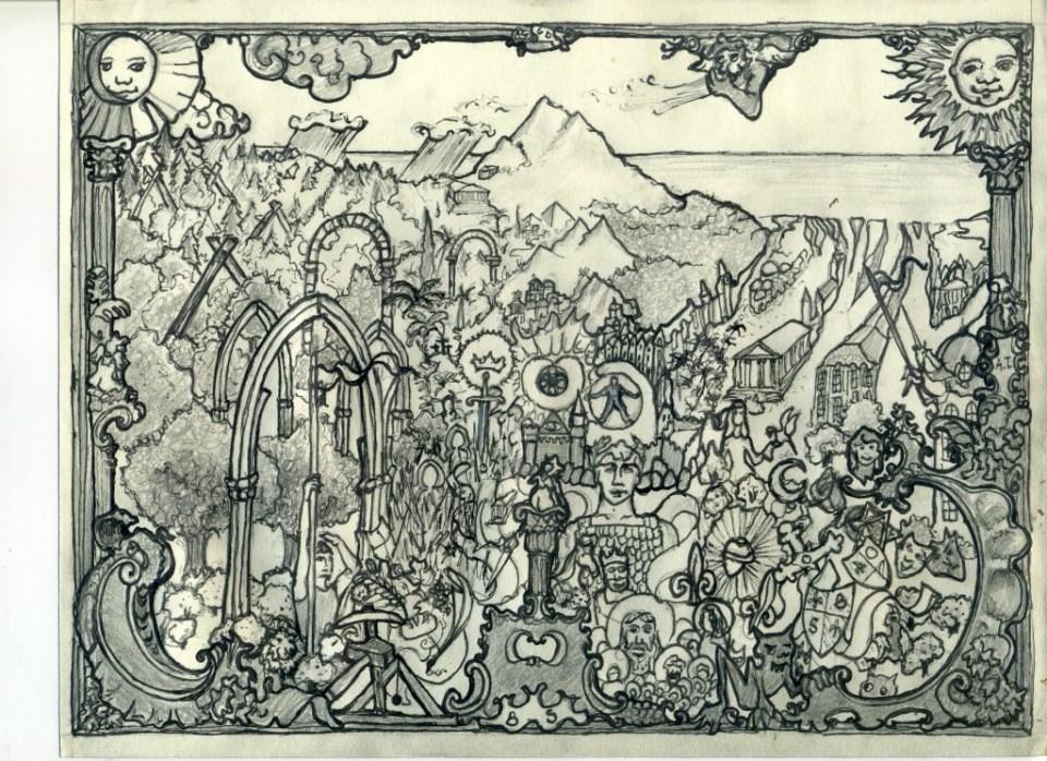 Julien Isoré, illustrazioni della teoria del bacino semantico di Gilbert Durand, 2015