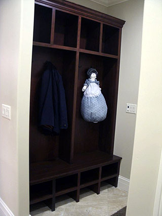 Coat Closet Shelving Amish Custom Furniture