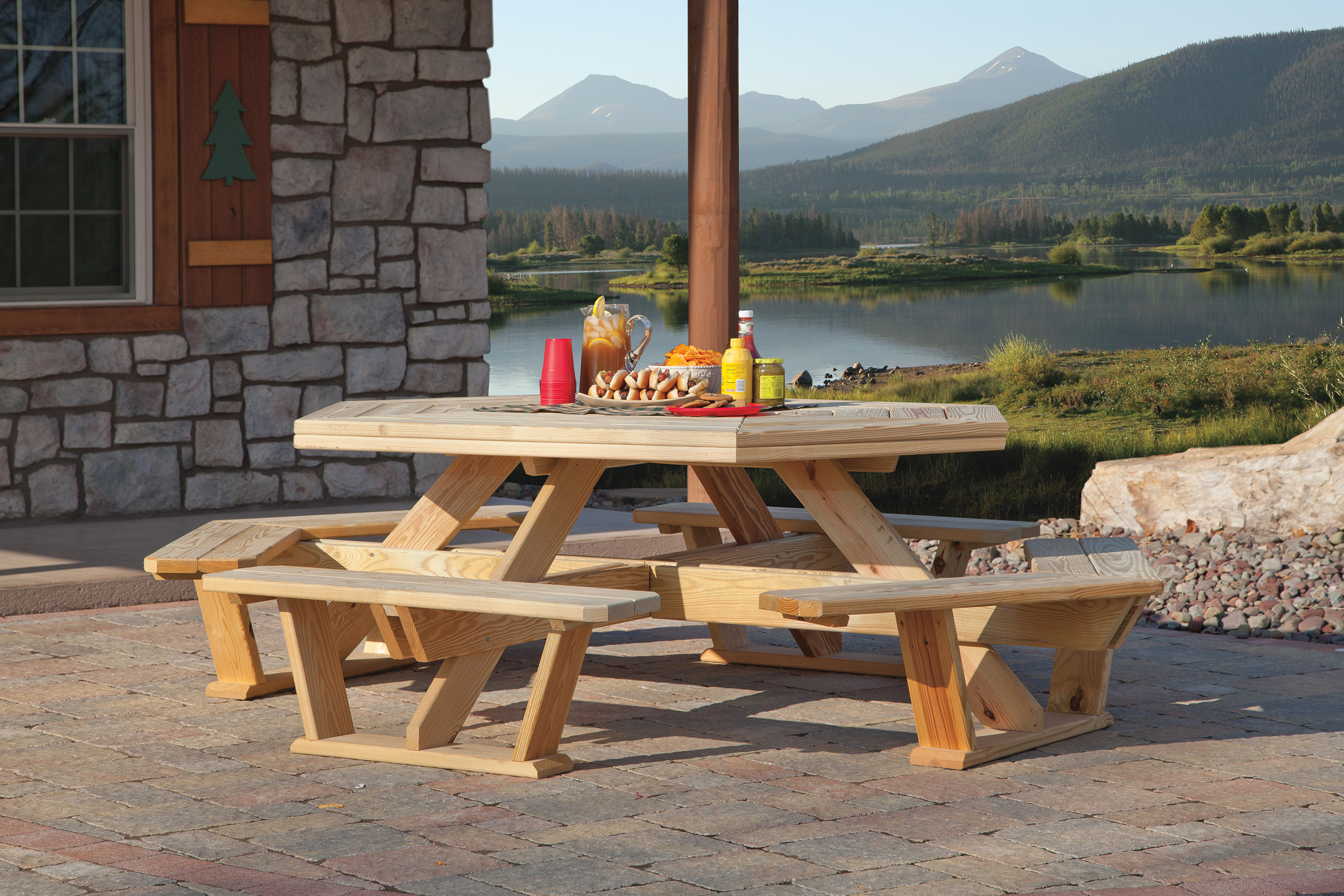 amish outdoor indoor furniture for