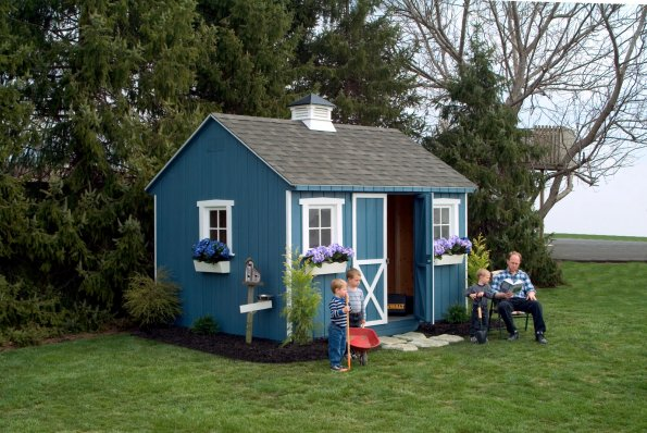 Vinyl Outdoor Storage Sheds