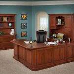 Buckingham U Shape Desk And Hutch Amish Direct Furniture