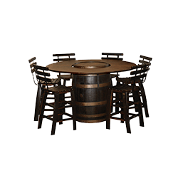Barrel Table Dining