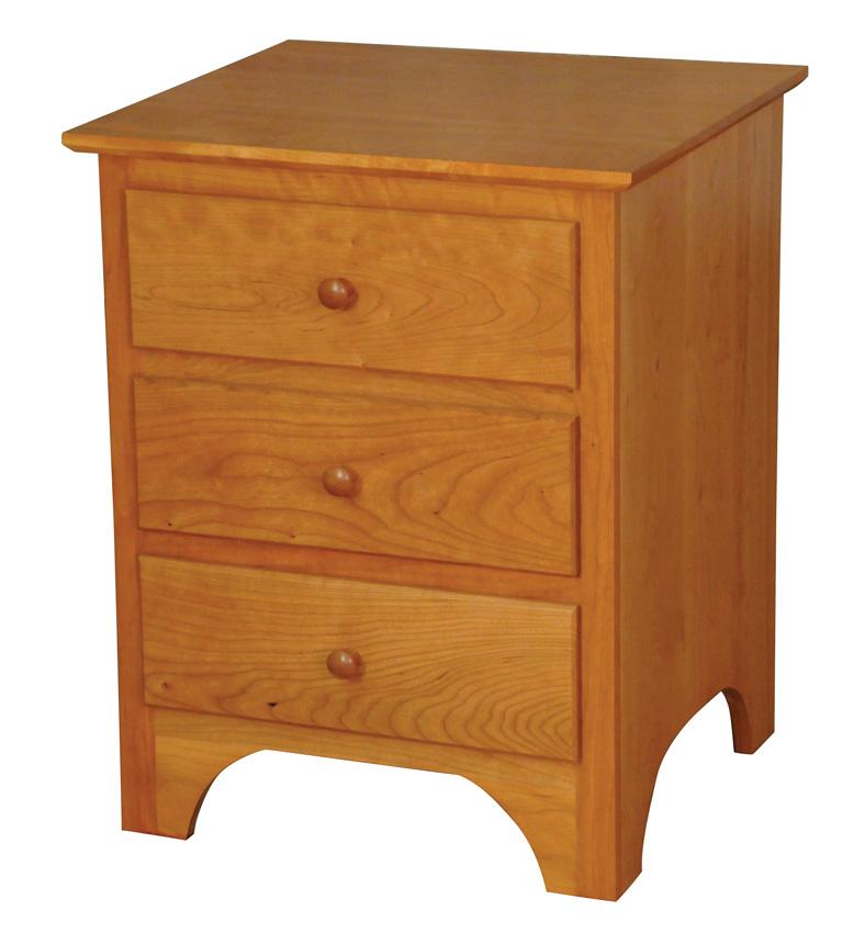 Shaker Nightstand Amish Furniture Designed