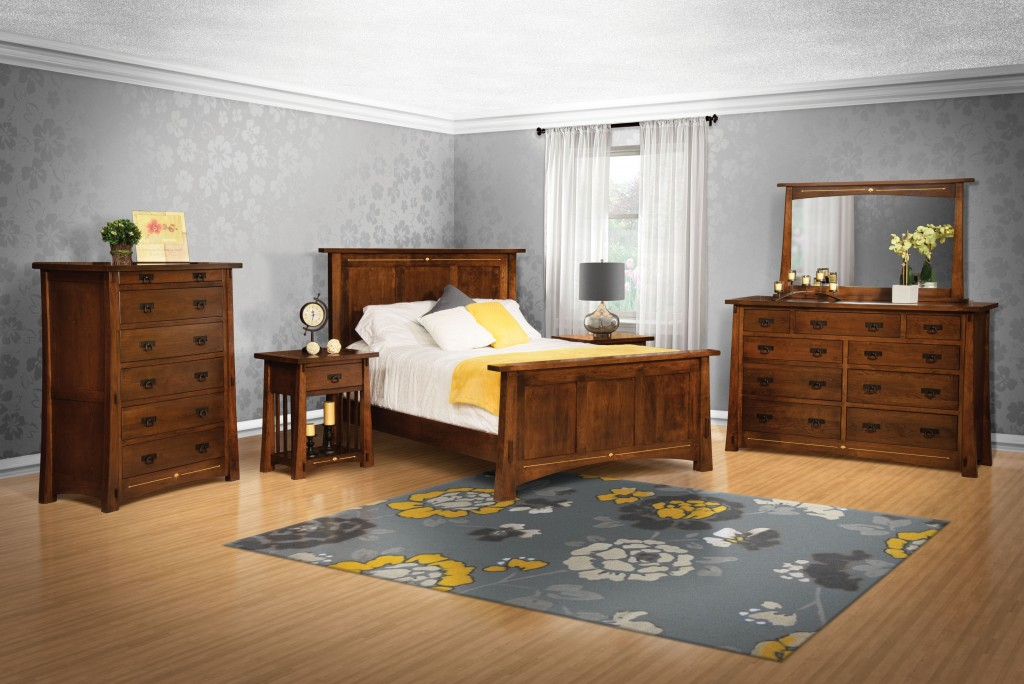 the perfect solid wood bedroom suite