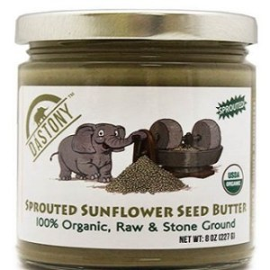 DaSTONY Sprouted Sunflower seed butter DaSTONY Organic Raw Sprouted Sunflower Seed Butter