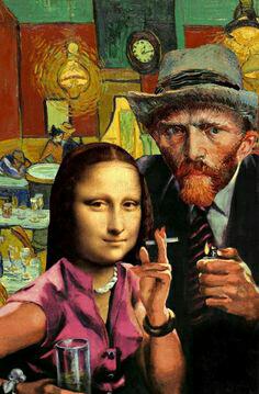 Mona and Vince