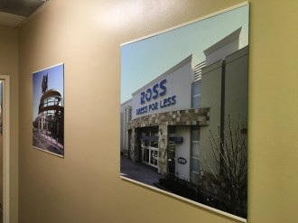 High resolution wall photos for corporate lobbies in Orange county