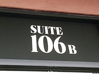 Office Suite Signs