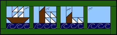 Sinking Sailboat by Ami Simms