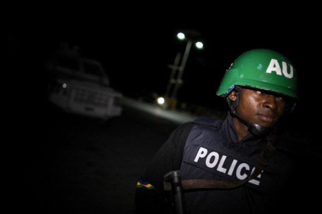 Image result for nigerian police team at night