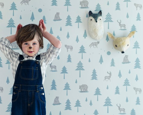 hibou-home-into-the-wild-kids-wallpaper | amisuradibimbo
