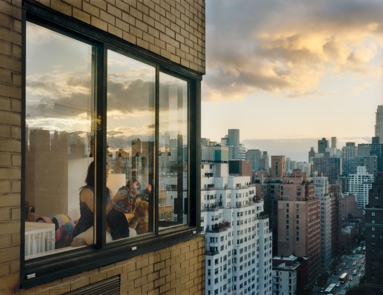 Out My Window, Upper East Side, Baby at Window, 2008