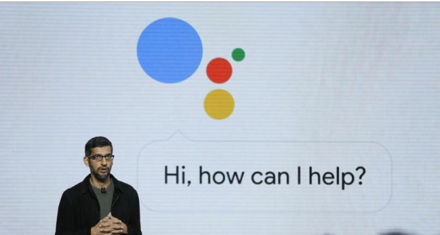 Sundar Pichai on Google Assist