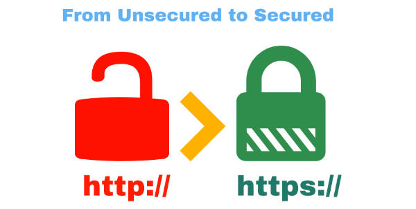 How to convert http site to https