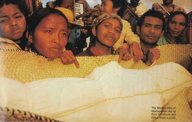 Death Ritual of Merina Tribe Madagascar
