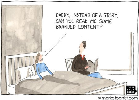 branded content - native advertising