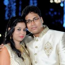 Niveditha and Abhijith