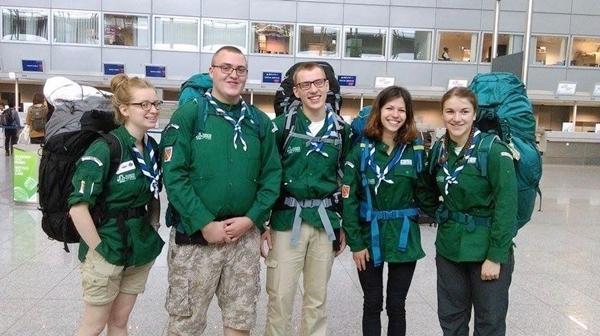 Départ pour Madagascar de cinq scouts