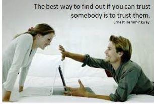 Trust - hemmingway quote2