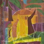 শান্তিনিকেতন. ৭৬.৫ /৫৮ cm, অয়েল  অন ক্যানভাস, তারিখ নেই
