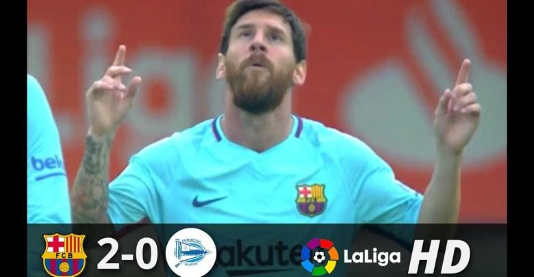 Photo of اهداف مباراة برشلونة والافيس وتألق واضح لميسي – [2-0] – Goals FC Barcelona Vs Alavés