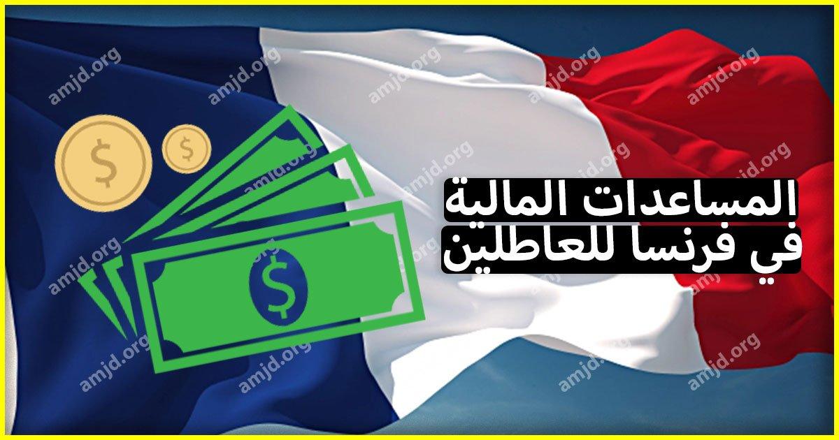 المساعدات المالية في فرنسا .. تعرف على المساعدات المقدمة لكل عاطل عن العمل (RSA)
