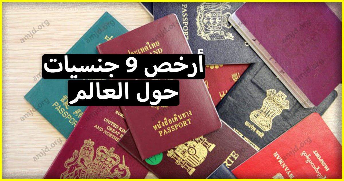 9 جنسيات للبيع 2018 - تعرف على أرخص الجنسيات حول العالم