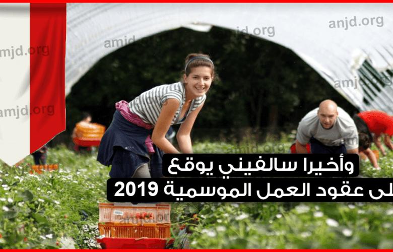 وأخيرا-سالفيني-يوقع-على-عقود-العمل-الموسمية-2019-..-اليكم-آخر-المستجدات