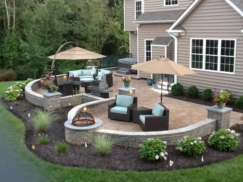 Marriottsville, MD After Landscape Design Installation
