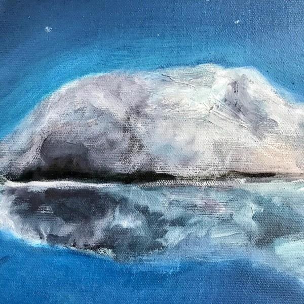 Photographie des textures d'une peinture à l'huile