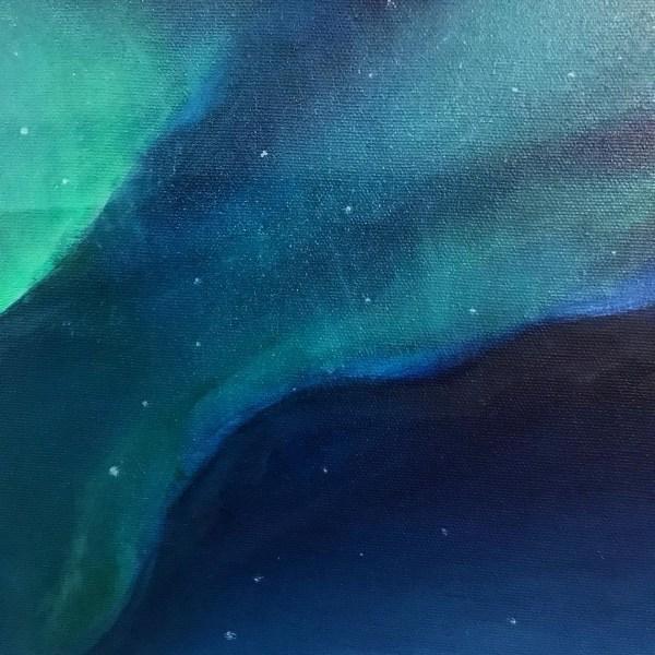 Photographie des textures d'une peinture