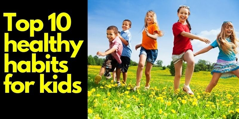 Top 10 Healthy Habits For Kids In 2020 Amk Healthline